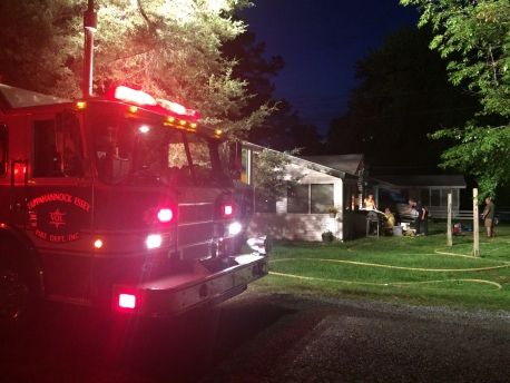TEVFD respond into Rappahannock River Estates